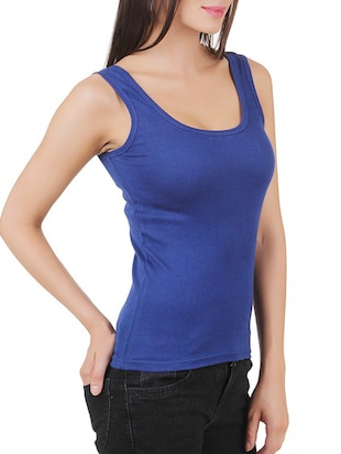 multi colored cotton tank tee set of 5 - 11707304 - Standard Image - 17