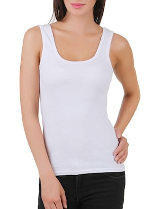 multi colored cotton tank tee set of 5 - 11707304 - Standard Image - 20