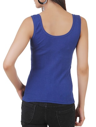 multi colored cotton tank tee set of 5 - 11707304 - Standard Image - 8