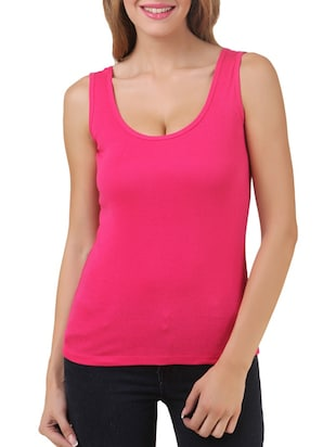 multi colored cotton tank tee set of 5 - 11707310 - Standard Image - 2