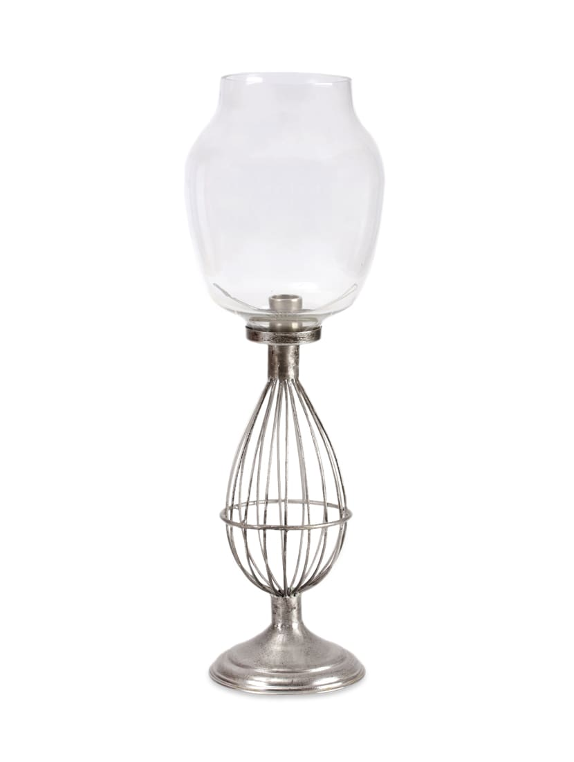 Iron & Glass Candle Holder - Magnificencia Home