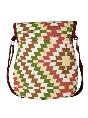 multi canvas sling bag - 11734885 - Standard Image - 2