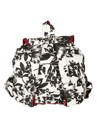 printed canvas backpack - 11734938 - Standard Image - 2