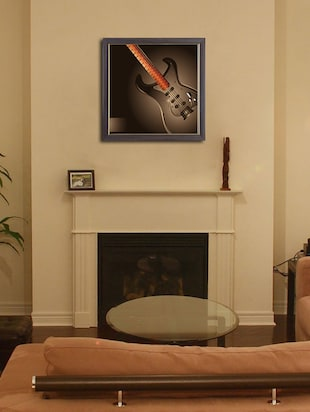 Buy Height Of Design Guitar Wall Painting For Unisex From Height Of