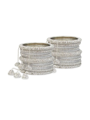 silver other bangle