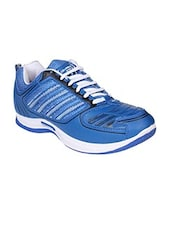 blue lace up sport shoe -  online shopping for Sport Shoes