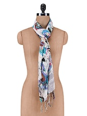 Multicolour Floral Printed Scarf - By