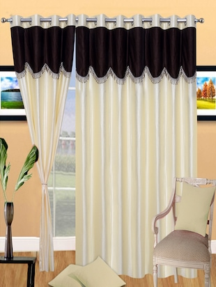 K Decor Set of 4 Beautiful Door Curtains