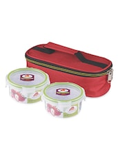 Multicolored Lunch Bag With Container - By