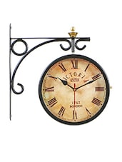 black metallic wall clock online shopping for wall clocks