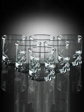 Pasabahce Future 325 cc Whisky Glasses - Set of 6 -  online shopping for Glass Sets