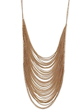 Layered Gold Chain Necklace - By