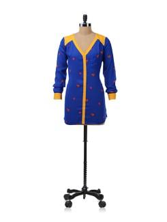 Blue Printed Tunic - NUN