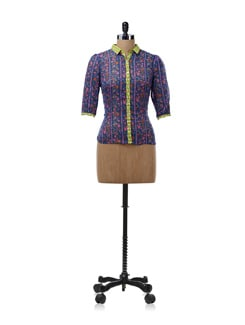 Multicolored Printed Shirt - NUN