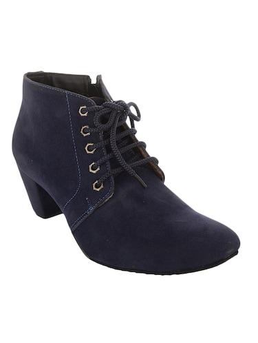 Designer Truffle Collection Women Black Heeled Boots Online