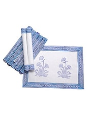 Jodhaa Table Mats Set Of 8 - By