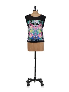 Floral Symmetry Square Top - Forever  New