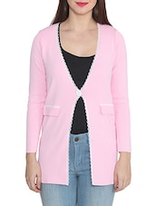 pink wool cardigan -  online shopping for Cardigans