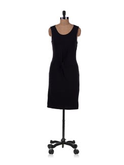 Black Knotted Dress - Allen Solly