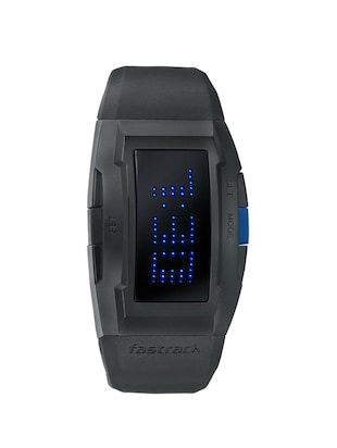 FASTRACK MEN SILICON DIGITAL BLACK WATCH - 38014PP01 -  online shopping for Men Digital watches