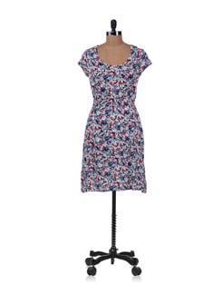 Multicolored Floral Dress - Allen Solly 12265
