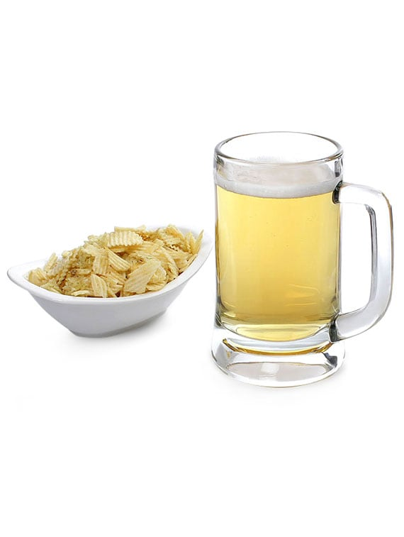 Glass Beer Mugs (Set Of 3) - By