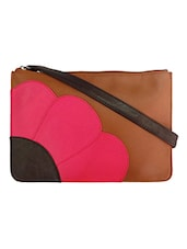 Multicolor Leatherette Sling Bag - By - 1228217