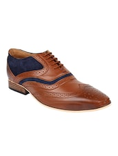tan leather brouges -  online shopping for Brouges