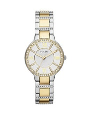 Fossil Virginia ES3503 Women's Crystal Accent Watch -  online shopping for Wrist watches