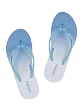 blue rubber slip on flip flops -  online shopping for Flip Flops