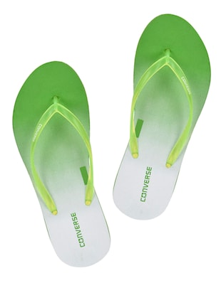 green rubber slip on flip flops -  online shopping for Flip Flops
