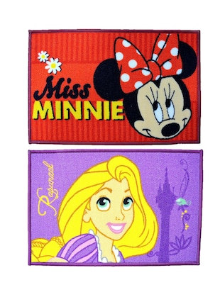 Set of 2 Minnie and Rapunzel Small Doormat - 12363292 - Standard Image - 2
