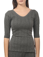 grey cotton thermal top -  online shopping for Thermals & Inner Wear
