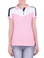 pink cotton tee -  online shopping for Tees