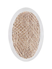 CARNIVAL Natural Vetiver Bath Scrubber, Ayurveda Recommends Vetiver/Khus, Beauty, Bath & Shower, Bathing Accessories, Loofahs. - By