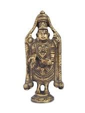 Tirupati Bala Ji A Religious Brass Statue For Home Temple - By