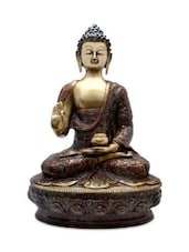 Handicrafted Brass Statue Of Lord Buddha - By