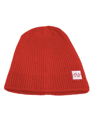 red polyester cap