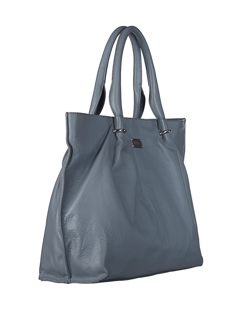 ab9a0a40d65a Buy Grey Leather Handbag by Klasse - Online shopping for Handbags in India