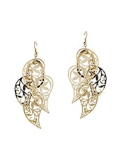 Gold Gold Plated Earring - By