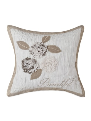 Sanaa Ivory/Natural Cushion Cover 40x40cms