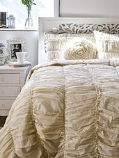 Solid Beige Quilt Set -  online shopping for bed in a bag
