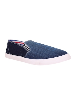 blue denim slip on shoes -  online shopping for Shoes