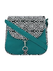 Multi canvas printed sling bag -  online shopping for sling bags