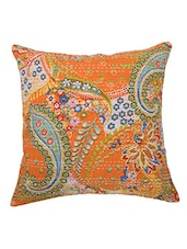 """16"""" Indian Kantha Cushion Cover Ethnic Paisley Pillow Cases Gypsy Throw Pillows - By"""