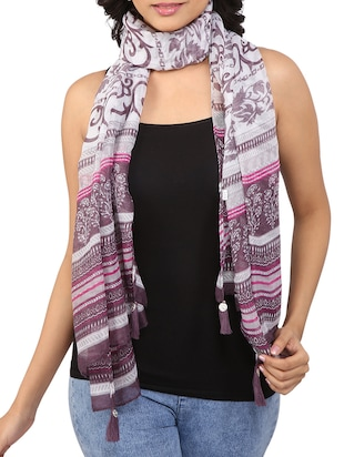 multi polyester stole