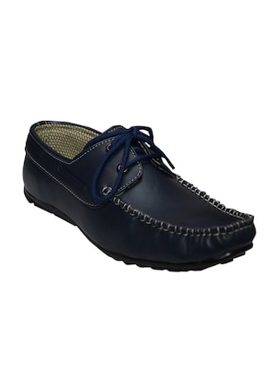 blue tpr lace up shoes -  online shopping for Shoes