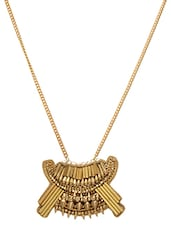 Gold Long Chain Necklace - By