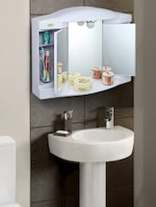 Ivory Bathroom Cabinet - By