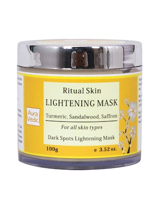 Auravedic Ritual Skin Lightening Mask with Sandal